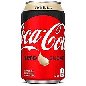 Coca cola blik 24x33cl zero vanille
