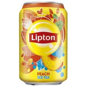 Lipton blik 24x33cl ice tea peach