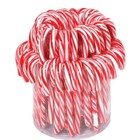 Candy cane rood/wit groot 72x28gr 17cm
