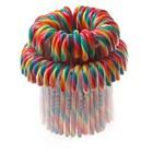 Candy cane regenboog groot 72x28gr 17cm