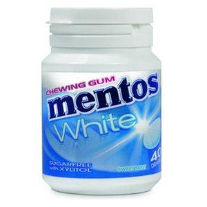Mentos pot 6x60gr white sweetmint 40st