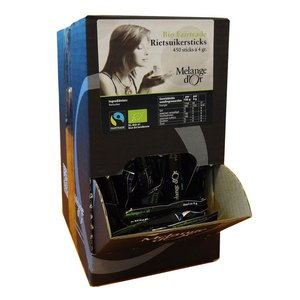Melange d'or rietsuiker 450x4gr Bio Fair Trade