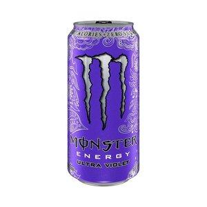 Monster blik 12x50cl ultra violet