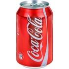 Coca Cola Deense Coca cola blik 24x33cl regular
