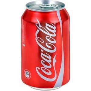 Deense Coca cola blik 24x33cl regular