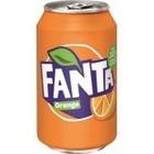 Deense Fanta blik 24x33cl orange