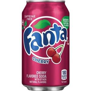 Amerikaans blik 12x355ml Fanta wild cherry