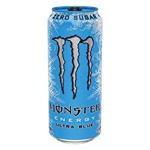 Monster blik 12x50cl ultra blue