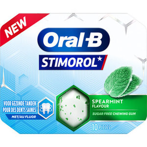 Stimorol oral-B 12x17gr spearmint