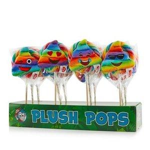 Kermis lolly plush poo's x12