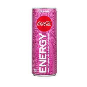 Coca cola blik 12x25cl energy cherry