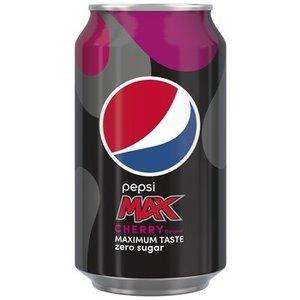 Pepsi blik 24x33cl max cherry NL