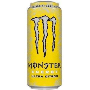Monster blik 12x50cl ultra citron