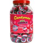 Candyman Lolly x100 candyman mac bubble aardbei