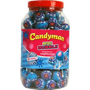 Lolly x100 candyman mac bubble tongkleurend