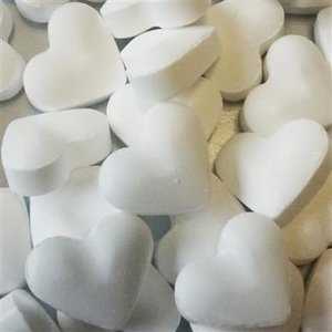 Geboorte 1kg dextrose hartjes wit 2gr