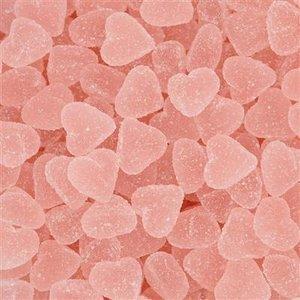 Schepsnoep 1kg hartjes roze gesuikerd aardbei