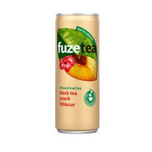 Fuze tea blik 24x25cl peach