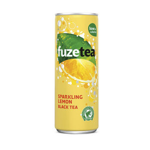 Fuze tea blik 24x25cl sparkling