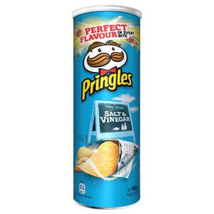 Pringles 165gr salt & vinegar
