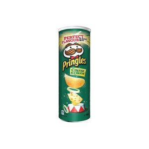 Pringles 165gr cheese onion
