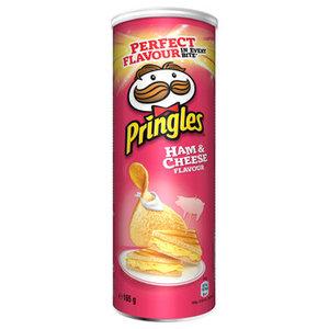 Pringles 165gr ham & cheese