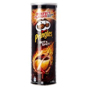 Pringles 165gr hot-spicy