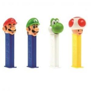Pez blister x12 Nintendo Super Mario