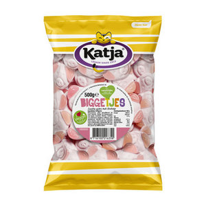 Katja schepsnoep 500gr Biggetjes