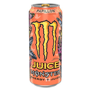 Monster blik 12x50cl Juice Papillon