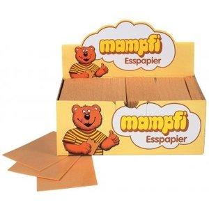 Ouwel eetpapier 200x1,45gr karamel 75x100mm