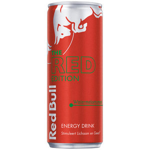 Red Bull 12x25cl edition red watermeloen