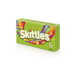 Skittles 16x45gr crazy sours