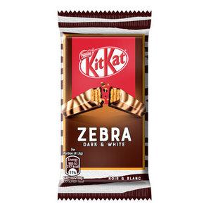 Kitkat 27x41,5gr zebra dark & white