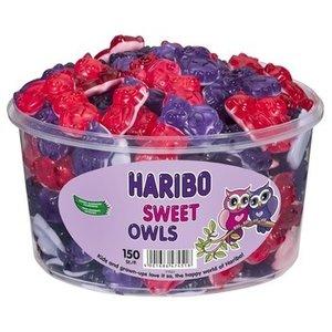 Haribo silo x150 sweet owls