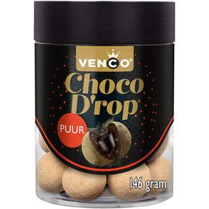 Venco chocodrop 6x146gr puur drop