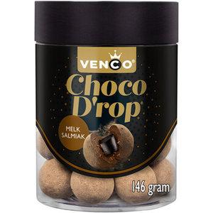 Venco chocodrop 6x146gr melk salmiak