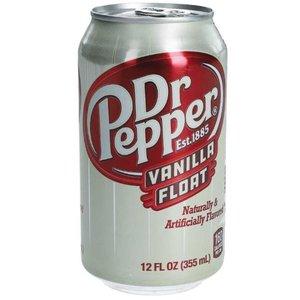 Amerikaans blik 12x355ml dr. pepper vanilla float