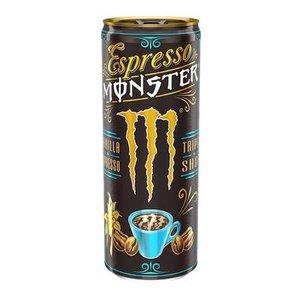 Monster 12x25cl espresso vanilla (blauw)