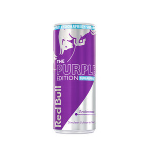 Red Bull 12x25cl edition purple