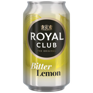 Royal club 24x33cl bitter lemon