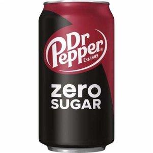 Amerikaans blik 12x355ml dr. pepper zero