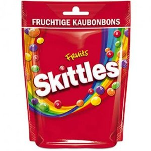 Skittles stazak fruit 12x160gr