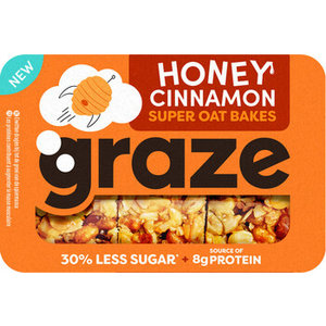 Graze 6x57gr honey cinnamon