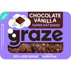 Graze 6x53gr chocolate vanilla