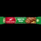 Cote d'or reep 32x melk nootjes (groen)