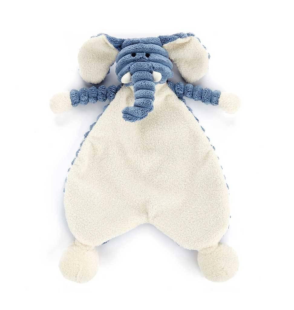 Jellycat knuffels Schmusetuch Elefant 23 cm Jellycat