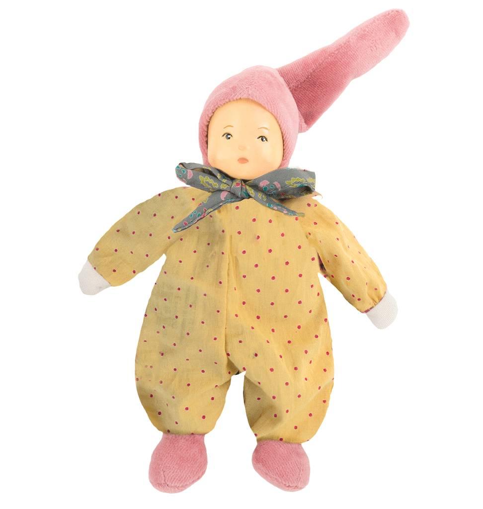 Moulin Roty Babypopje rammelaar Moulin Roty 20 cm