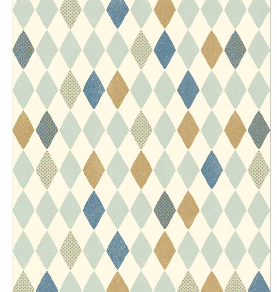 Maileg Pakpapier Harlekin van Maileg blauw