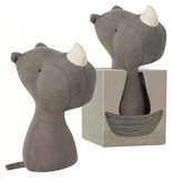 Maileg Rhino rattle from  Maileg 12 cm